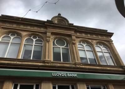Bank facade repair and restoration