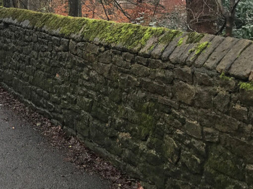 Mottram Road Retaining Wall, Hyde