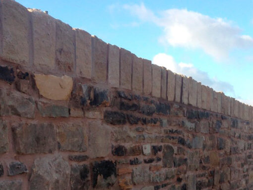 Mossley Road Retaining Wall, Tameside