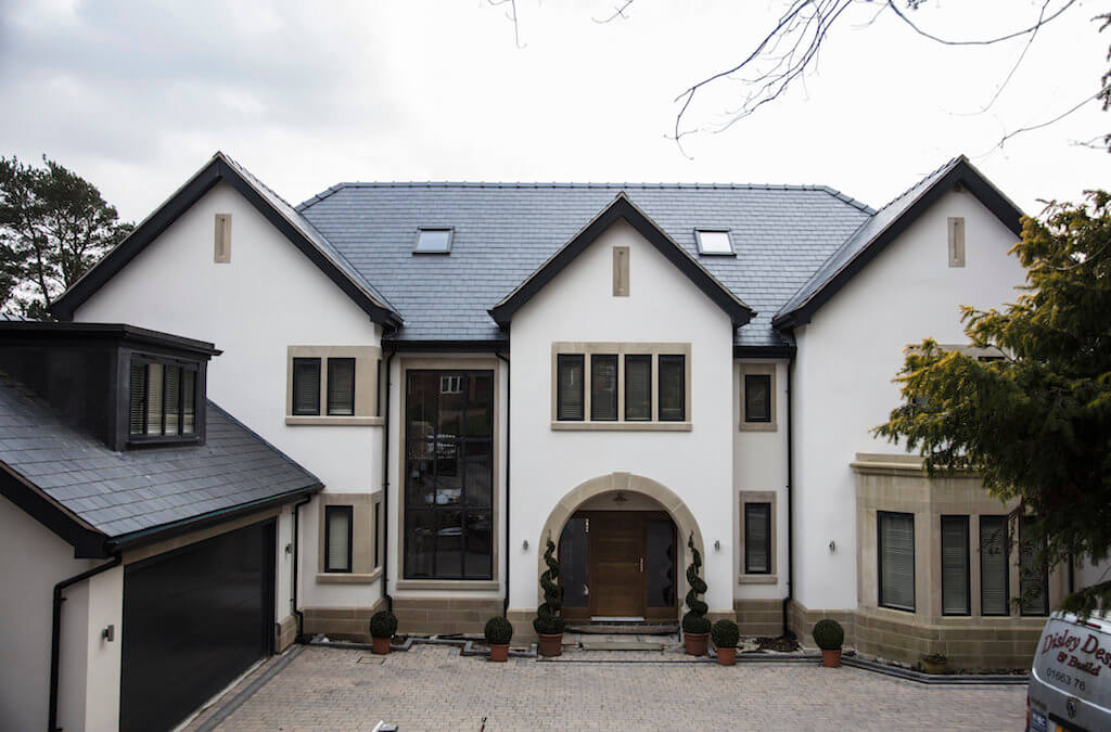 New build home, Disley