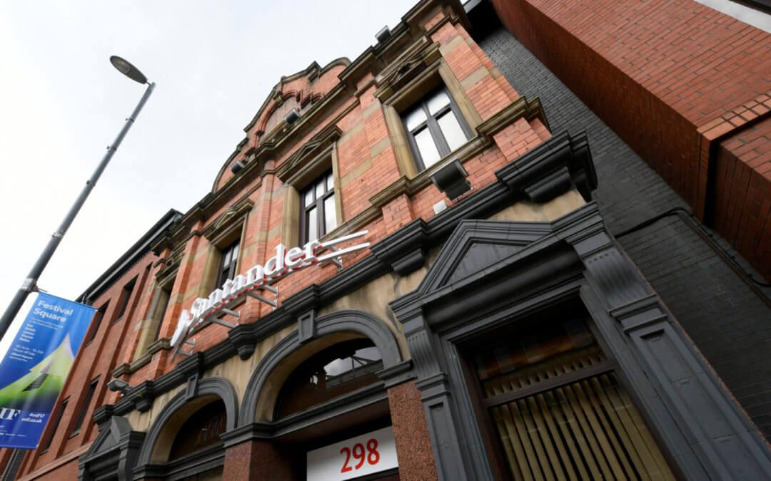 Bank Facade Works, Manchester City Centre